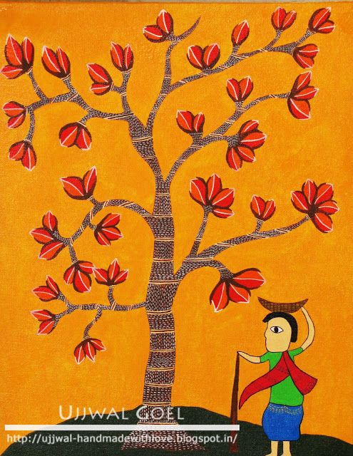 Handmade with Love: Gond Paintings