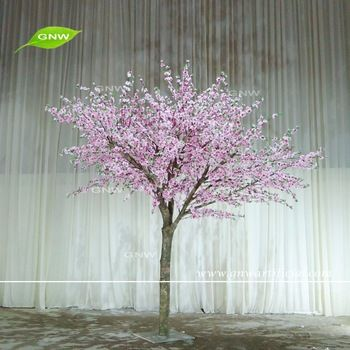 Gnw Bls1605007 China Products New Design Pink Artificial Peach Blossom Tree For Sale Artificial Flowers Wedding Peach Blossom Tree Artificial Flowers