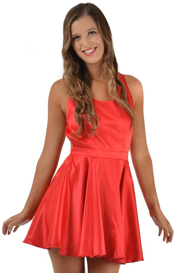 Adorable Love Dress in Red           www.peekaboofashion.com