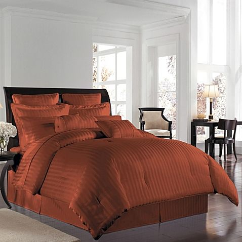 Comforter Sets, Brown Rust Colored Bedding