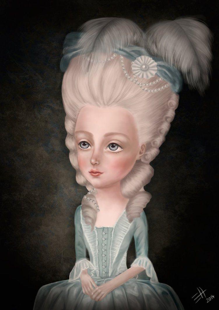 Marie Antoinette by EdaHerz on DeviantArt