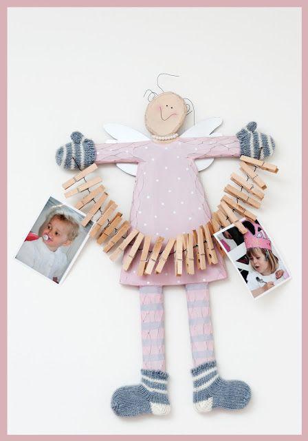 Bonito y fácil detalle para habitación infantil
