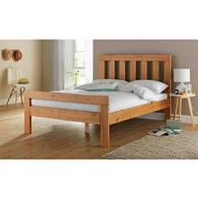 Argos Bedroom Furniture Prepossessing Buy Collection Chile Small Double Bed Frame  Oak Stain At Argos Inspiration Design