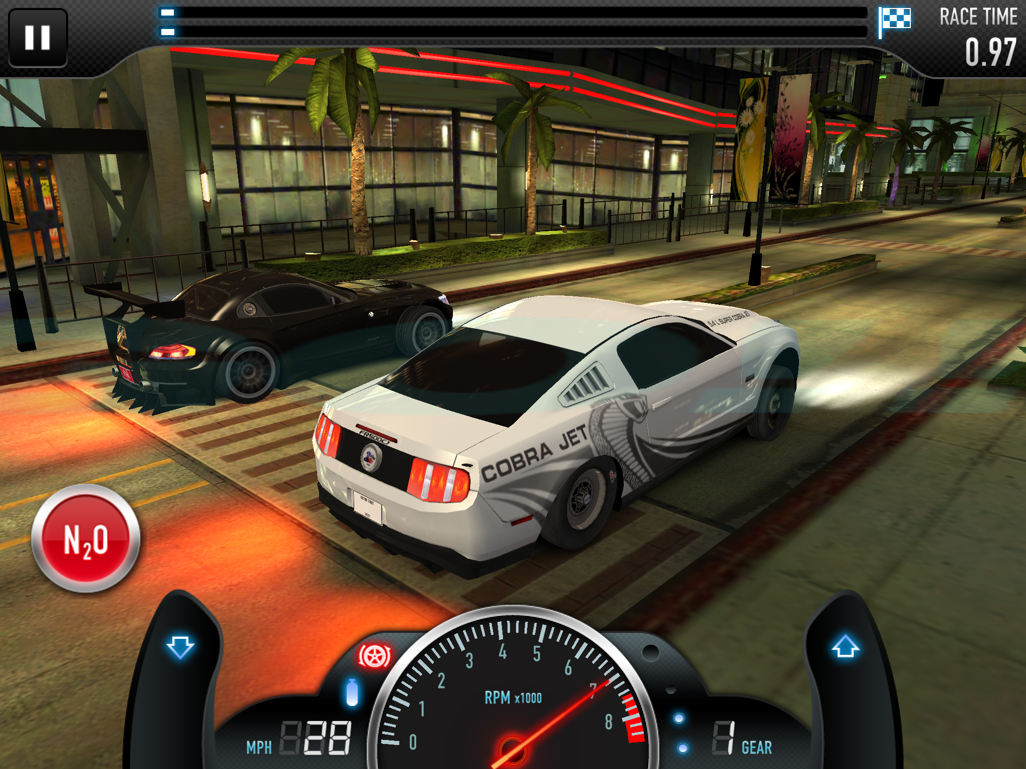 Mustang Cobra Jet Launch Racing Games Racing Car