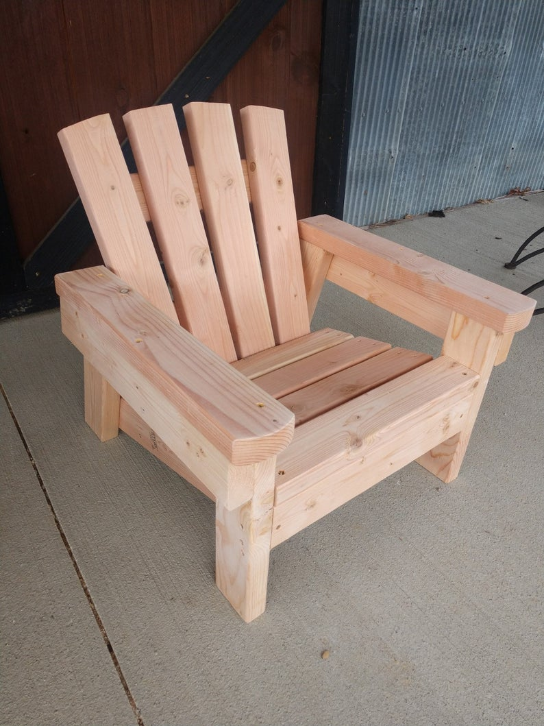 Child Size 2x4 Adirondack Chair Plans The Perfect Size For