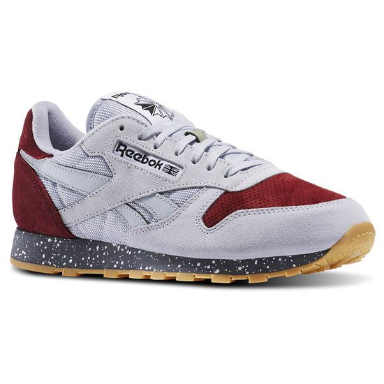 Classic Leather Speckle Gris Reebok classic, Chaussure  Reebok classic, Chaussure