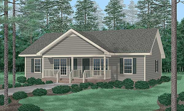 Traditional Multi Family Plan 94477 Duplex plans Traditional