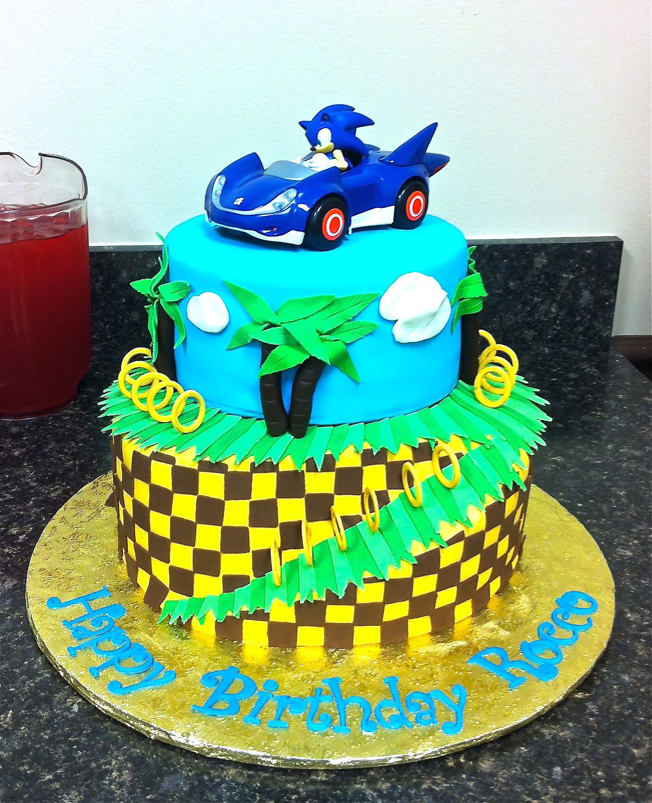 Sonic The Hedgehog Cake Its A Party Pinterest Hedgehog Cake