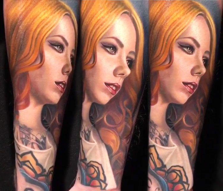 42f91820d Megan Massacre tattoo by Nikko Hurtado | www.inkedone.com | Tattoos ...