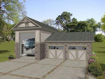 Plan 007G-0010 - Garage Plans and Garage Blue Prints from The ...