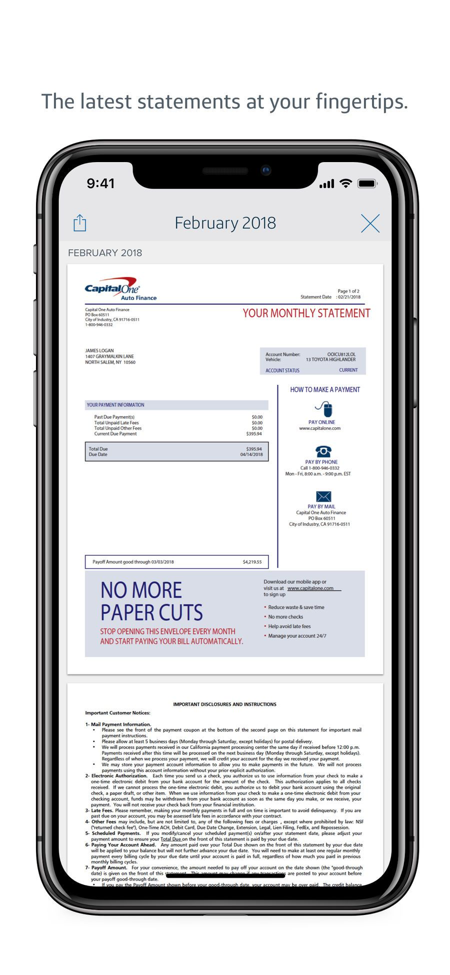Capital One Mobile Apps App Appstore Ios Capital One One Mobile
