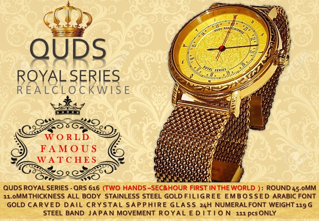 Pin by QUDS REALCLOCKWISE on ROYAL SERIES QUDS