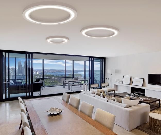 Modern Lighting Design Trends 2016 Revolutionize Interior Decorating   Modern Living Room. Pendant Light   Modern Contemporary Electroplated Feature for LED