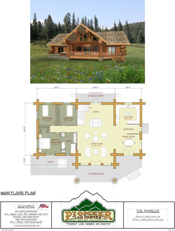 The Plans For The Dream Lake House Log Homes Log Home Floor Plans Log Cabin Plans