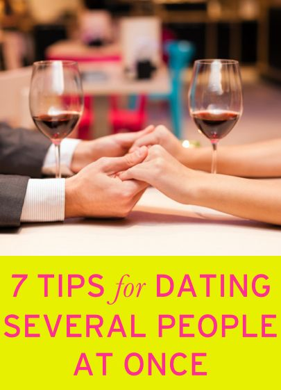 dating several people at once