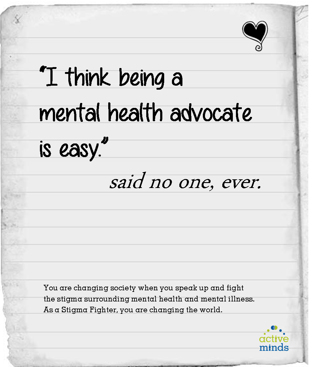 Every Time You Speak Out You Smash The Stigma We Can T Do It Alone