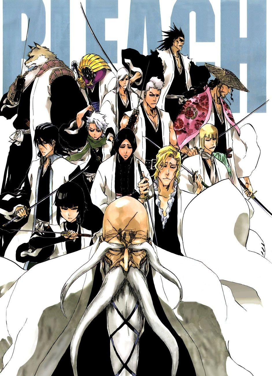 Pin by *A Girl Who Loves Anime* on *13 Court Guard Squads