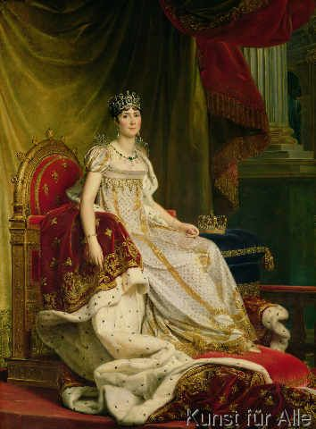 Baron François Pascal Simon Gérard - Empress Josephine (1763-1814) 1808