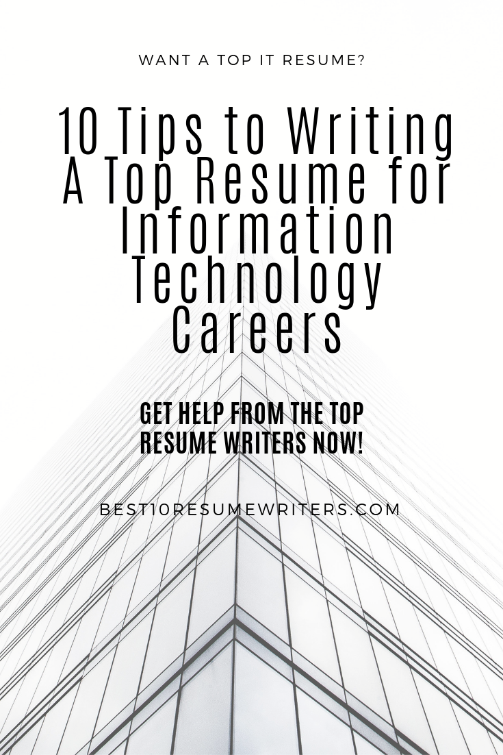 Best resume writing service for it professionals