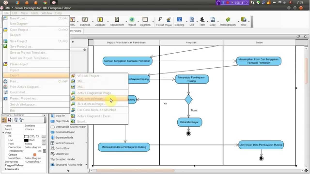 Visual Paradigm Activity Diagram Tool visual-paradigm.com ...