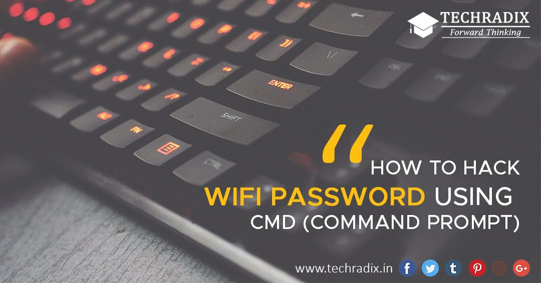HOW TO HACK WIFI PASSWORD USING #CMD (COMMAND PROMPT) This