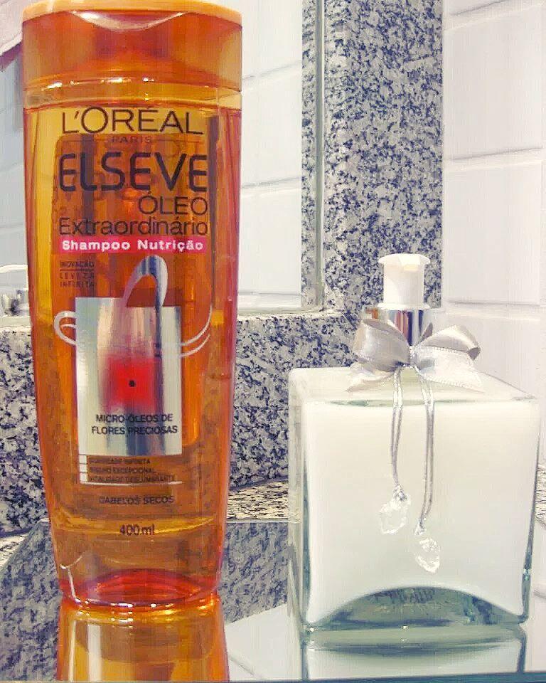 Um Dos Shampoos Que Eu Mais Usei E Este Da Elseve O Oleo