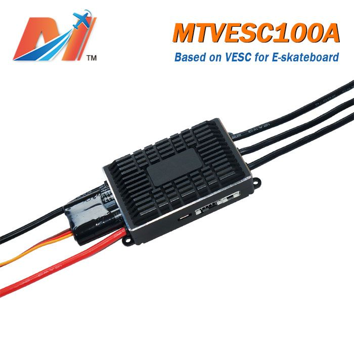 New VESC100A 100A ESC based on VESC speed controller for