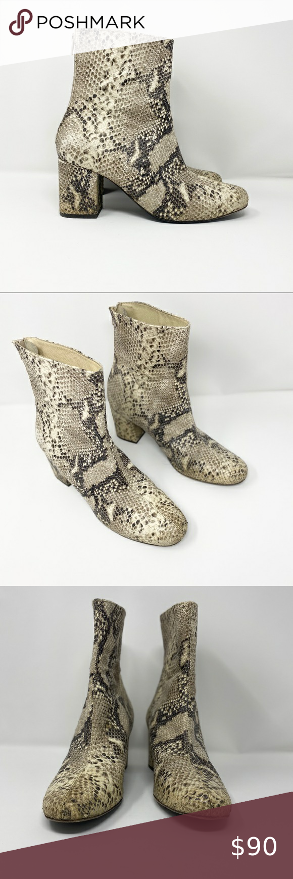 Free people snake print boots size 11 Free people snake print boots size 11 Free…