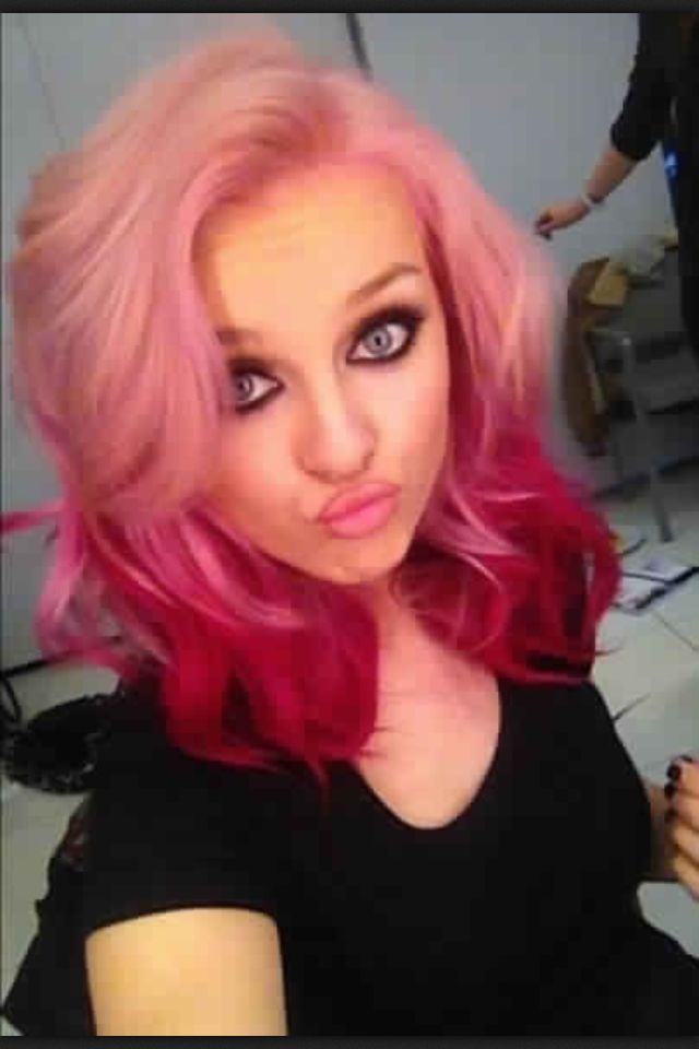 Perrie's new hair is so pretty!!!