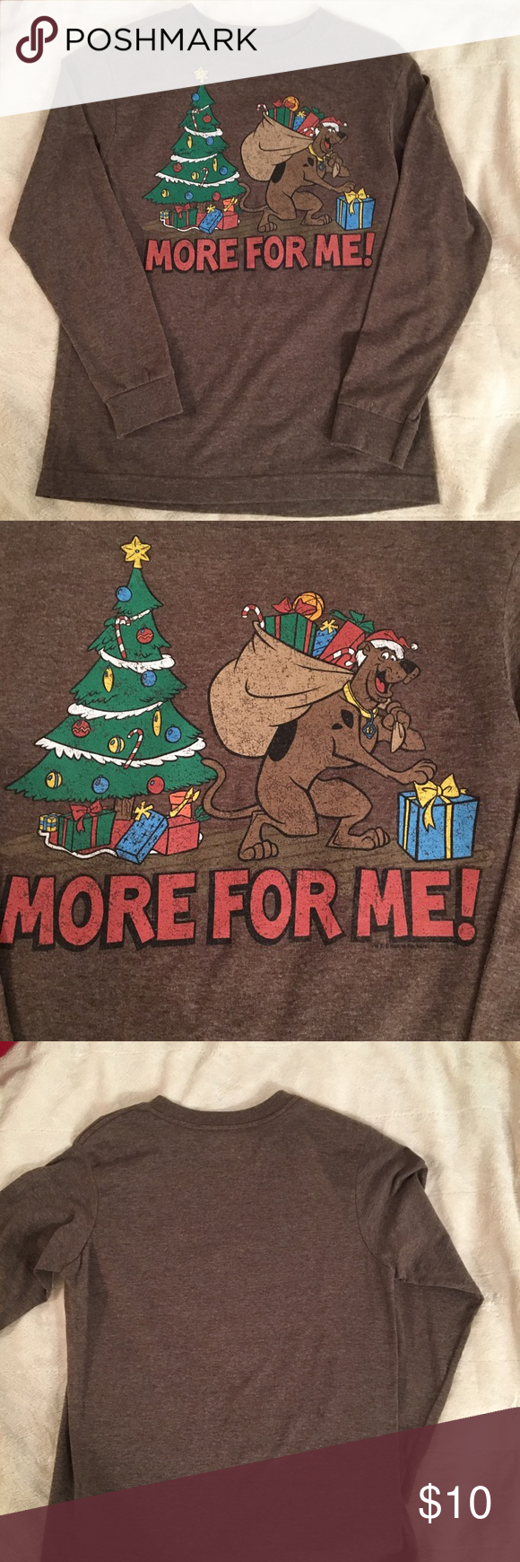 Old Navy Collectabilitees Scooby Christmas Shirt | My Posh Closet ...