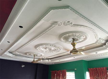 M 805 Cost Of False Ceiling Pop Gypsum Gypsum Decoration Is The
