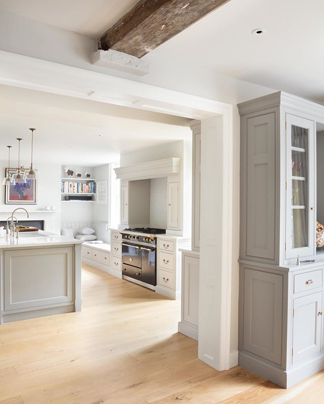 Georgian Farmhouse Hampshire Another Peek Of This Beautiful Nickleby Kitchen In Stunning