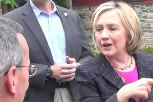 You Won't Believe Where Hillary Tells an Adoring Fan to Go  Read more: http://www.thepoliticalinsider.com/you-wont-believe-where-hillary-tells-an-adoring-fan-to-go/#ixzz3bv0vfoVO - The Political Insider