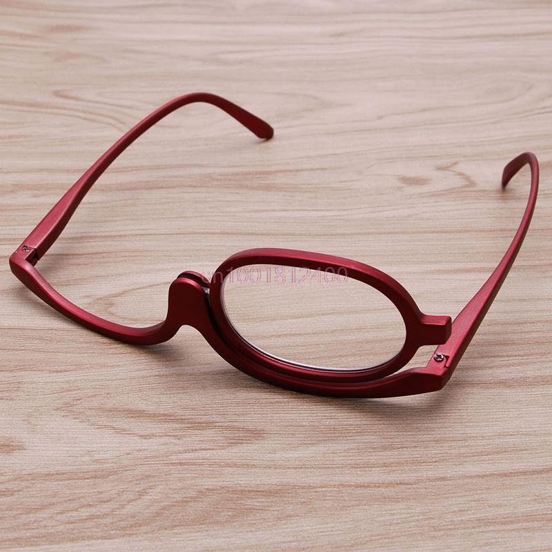 Lupa Óculos Dobráveis Óculos Óculos de Leitura De Vidro de Maquiagem  Cosméticos Em Geral em Óculos de Leitura de Das mulheres Roupas    Acessórios no ... a4078f3729
