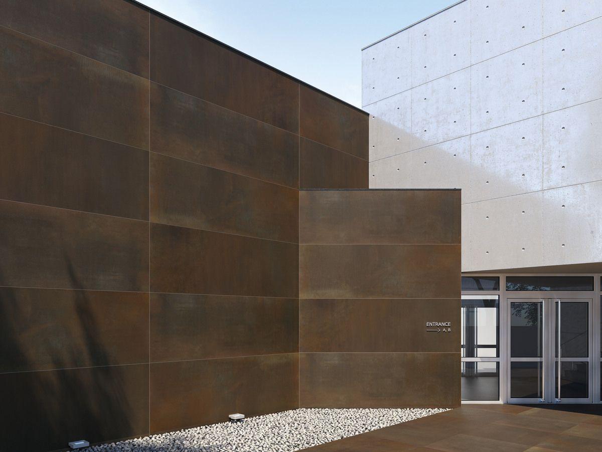 10 Fachadas con azulejos grises