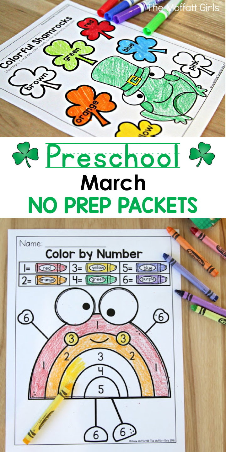 March FUN-FILLED Learning! | Phonics, March and Number