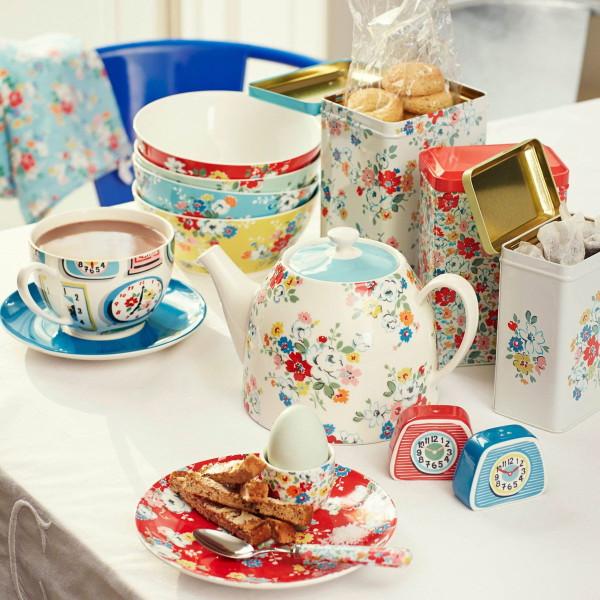 Clifton Rose Teapot | View All | CathKidston  sc 1 st  Pinterest & Clifton Rose Teapot | View All | CathKidston | Teatime! | Pinterest ...