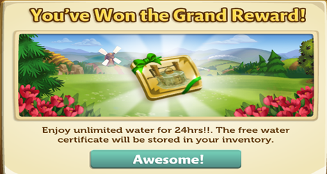 Farmville 2 Free Water Gaming gifts, Farmville