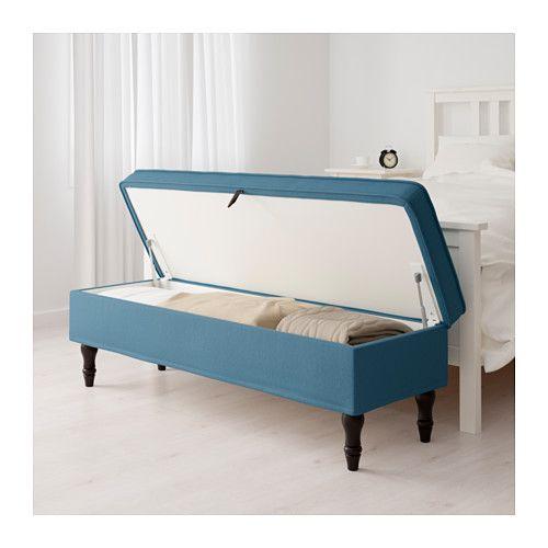 STOCKSUND Banco - Ljungen azul, negro - IKEA | Bancas | Pinterest ...