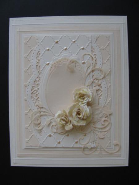 Creamy Mother's Day Roses by genistamps - Cards and Paper Crafts at Splitcoaststampers