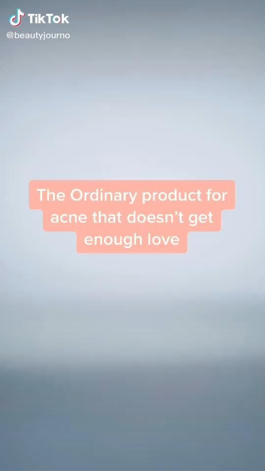 Photo of The Ordinary Product for Acne Skincare Beauty TikTok – beauty routine