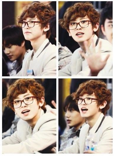 Exo Chanyeol in glasses