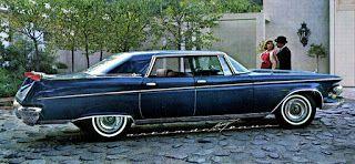 casey/artandcolour/cars: 1962 Imperial Lebaron Southampton: Facelifted
