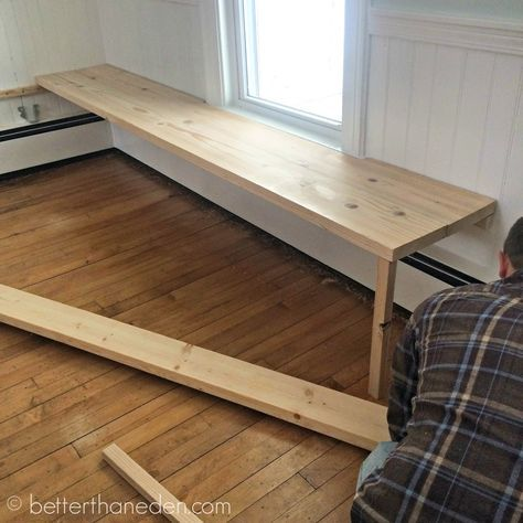 The Floating Built-In Kitchen Bench