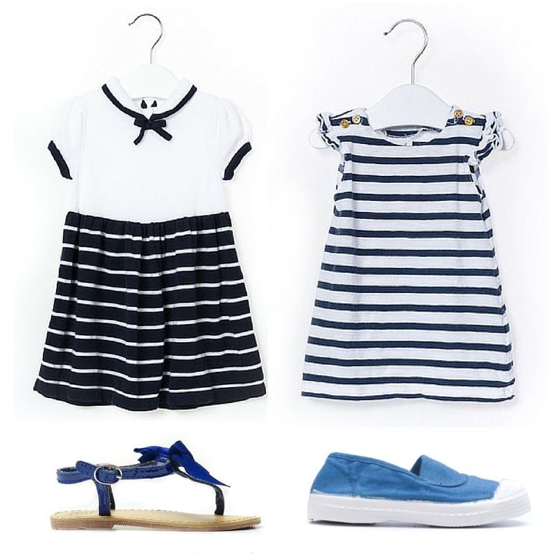 You Don T Need To Be Sailing To Rock The White Blue More Nautical Gems On Retykle Sailor Summ Kids Clothes Online Shopping Kids Outfits Resale Clothing