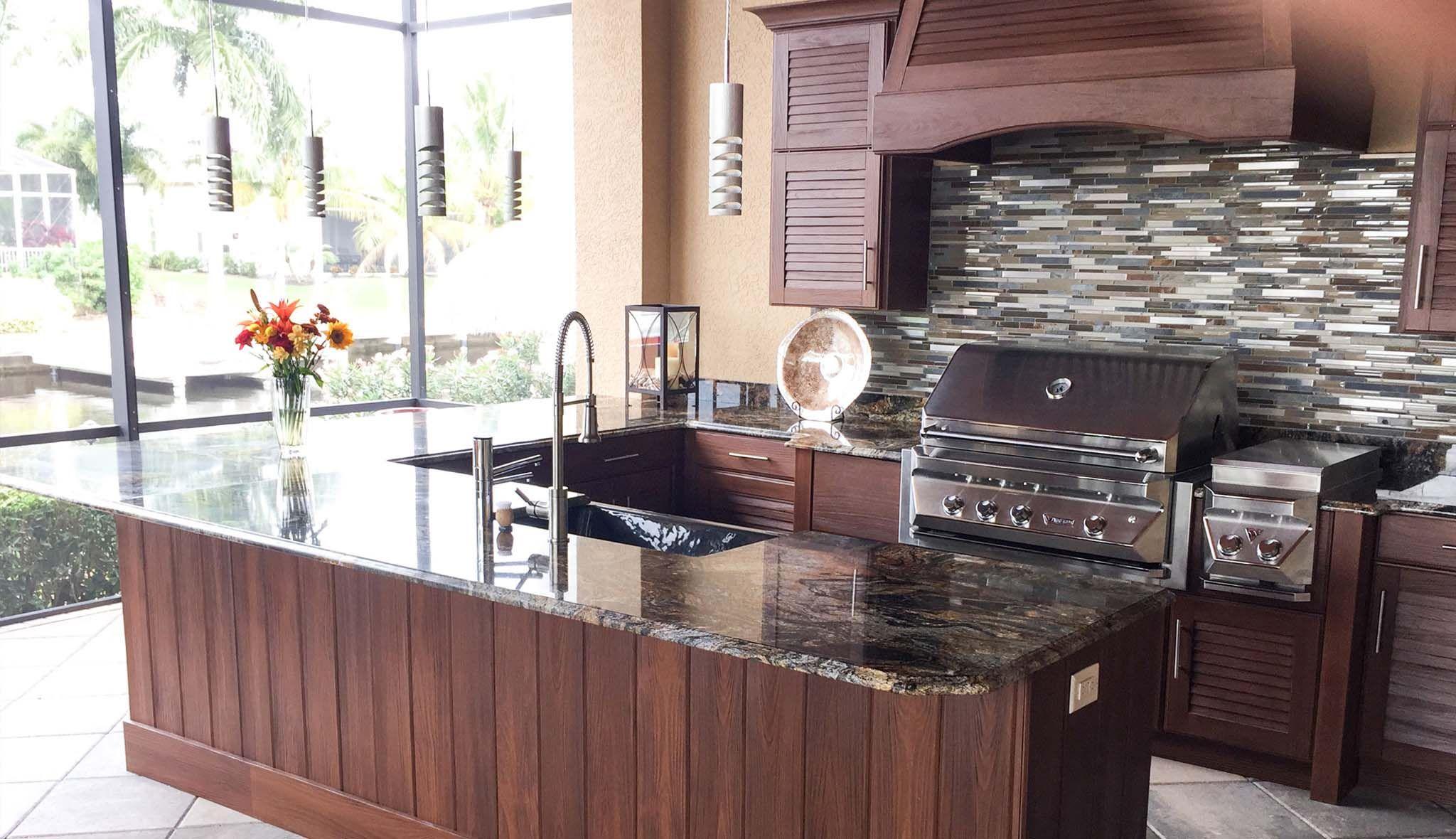 Sunroom Outdoor Kitchen Design Idea Outdoor Kitchen Cabinets Outdoor Kitchen Design Outdoor Kitchen