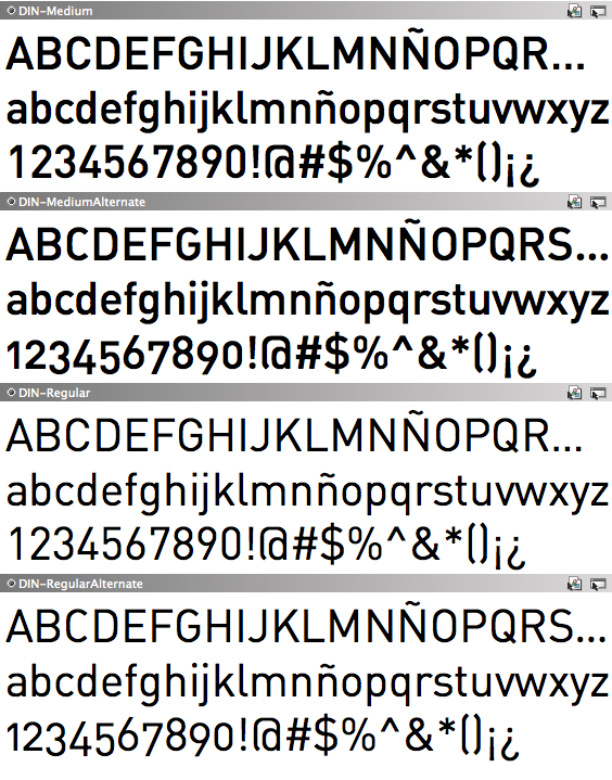 din font = F A N  | Fonts | Fonts, Typography, Font family