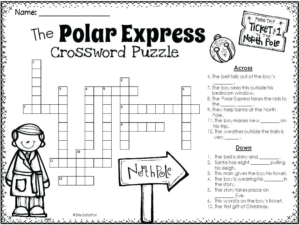 Polar Express Coloring Pages Polar Express Activities Polar