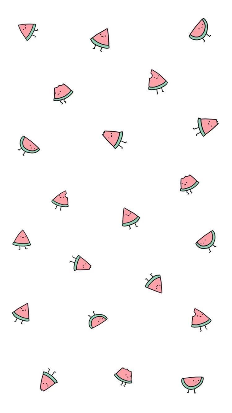 Fondos De Pantalla 3 Cute Wallpapers For Ipad Screen Savers Wallpapers Watermelon Wallpaper