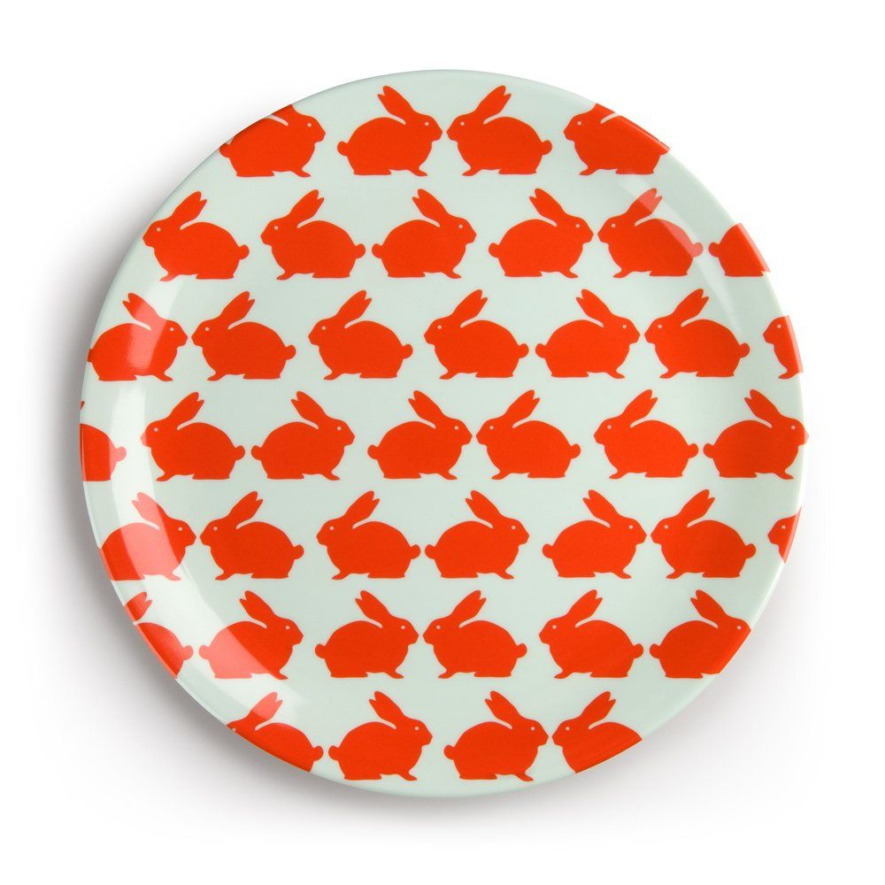 Anorak Kissing Rabbits Melamine Plate - Picnicware from Anorak UK  sc 1 st  Pinterest & Anorak Kissing Rabbits Melamine Plate | TABLETOP | Pinterest ...